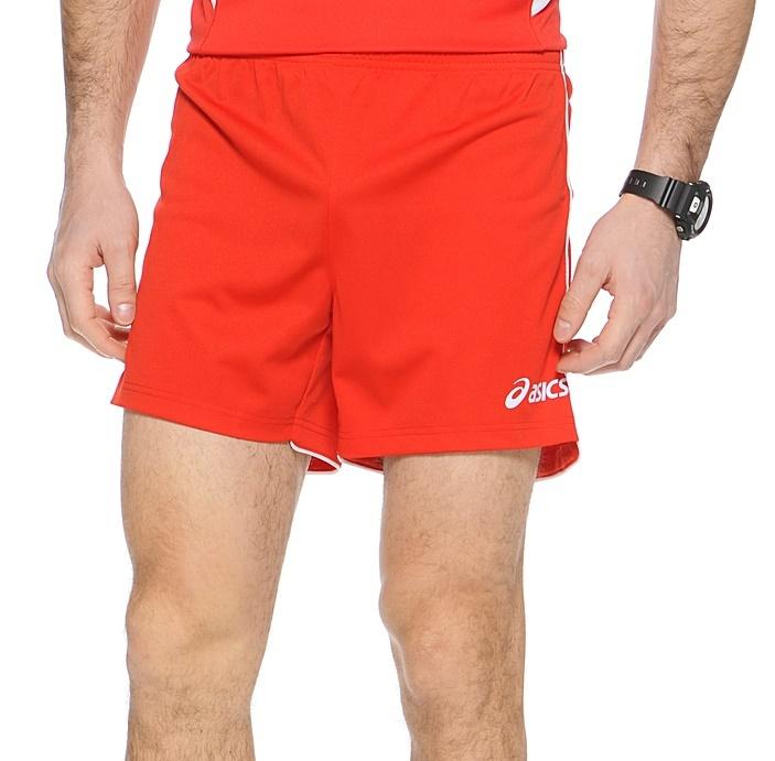 Волейбольные шорты Asics Short Zona красные - 2