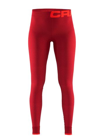 Термобелье женское Craft Warm Intensity рейтузы красные