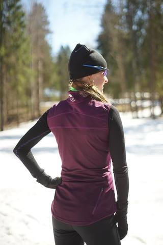 Nordski Motion женский лыжный жилет purple