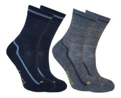 Janus детские термоноски махровые комплект темно-синие