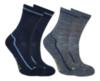 Janus детские термоноски махровые комплект темно-синие - 1