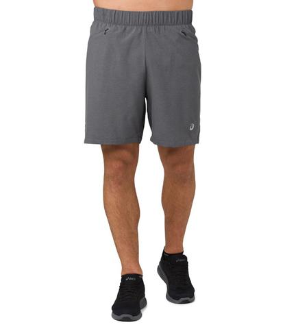 """Asics 2 In 1 7"""" Short шорты для бега мужские серые"""