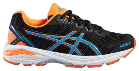 Asics Gt 1000 5 Gs беговые кроссовки подростковые черные-оранжевые