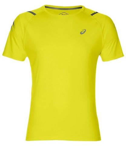 Asics Icon Ss Top футболка для бега мужская желтая
