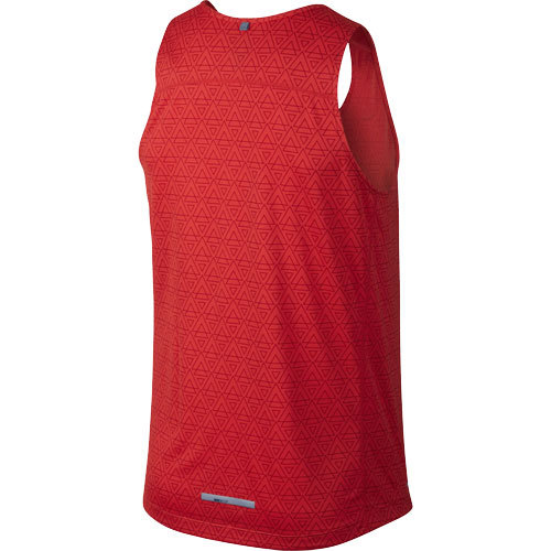 Майка л/а Nike Printed Miler Singlet красная - 2