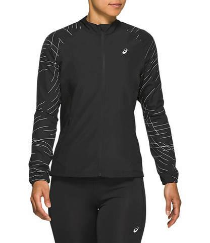 Asics Night Track Jacket ветрозащитная куртка женская черная