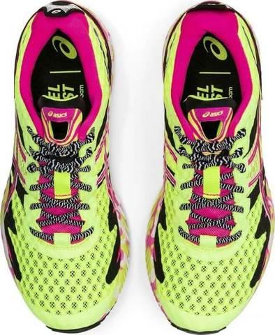 Asics Gel Noosa Tri 12 кроссовки для бега женские розовые-желтые