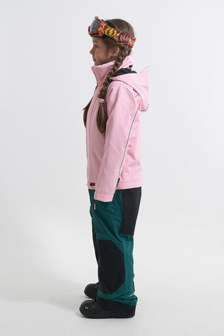 Комбинезон утепленный детский Cool Zone NICK розовый-болотный