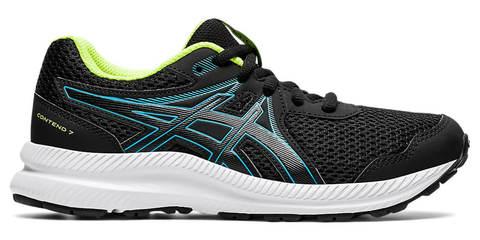 Asics Gel Contend 7 Gs кроссовки для бега детские черные