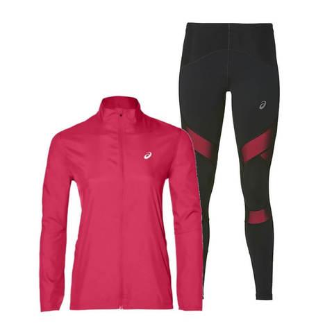 Asics Silver Balance костюм для бега женский pink