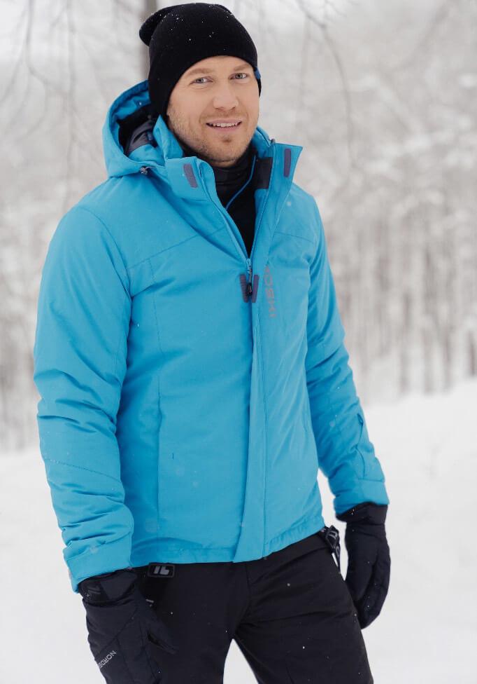 Nordski Mount теплый лыжный костюм мужской синий - 3