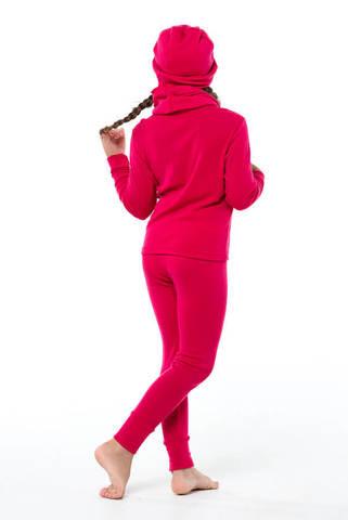 Janus Princess Wool комплект термобелья детский малиновый