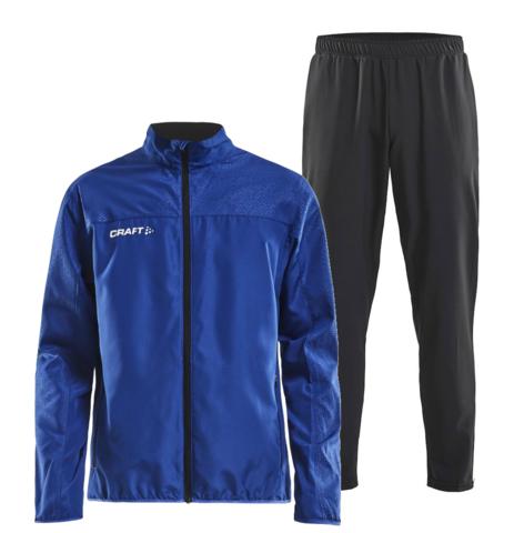 Craft Rush Wind мужской костюм для бега синий-черный