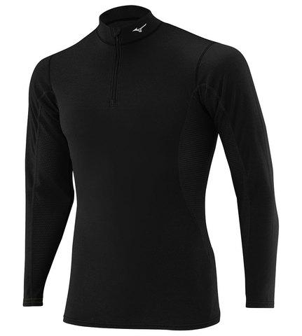 Mizuno Middleweight H/Z термобелье рубашка мужское черное