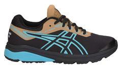 Asics Gt 1000 7 GS Sp кроссовки для бега детские черные-голубые