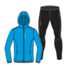 Nordski Jr Run Premium беговой костюм детский Light Blue - 3