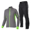 NONAME ROBIGO ENDURANCE костюм для бега серый - 1