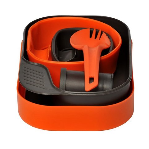 Wildo Camp-A-Box Complete набор туристической посуды orange