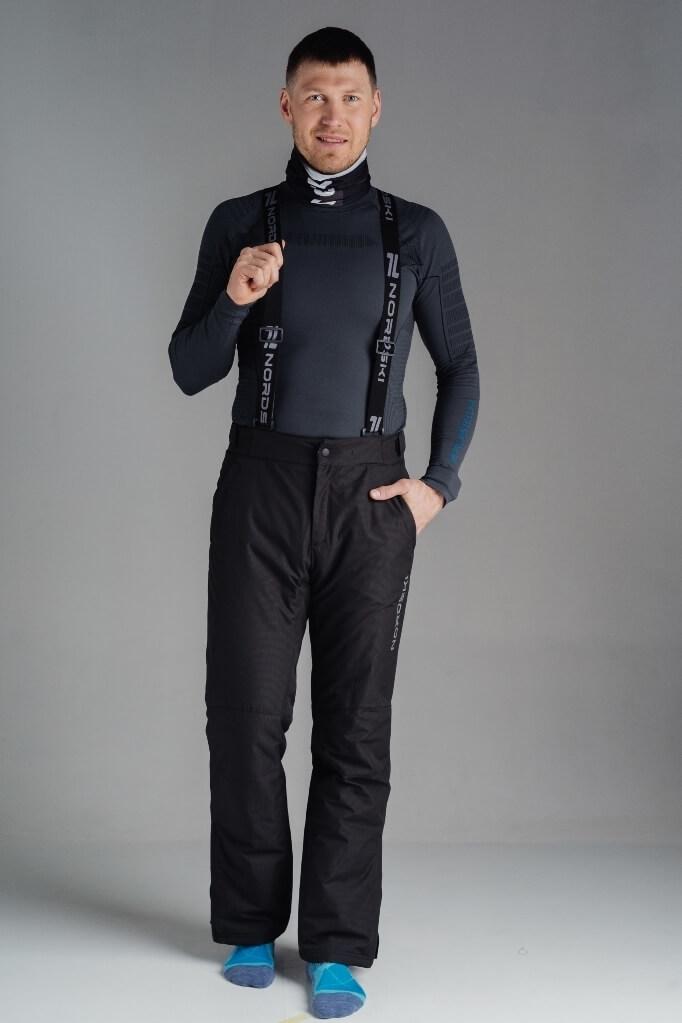 Nordski Mount теплый лыжный костюм мужской синий - 4