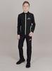Nordski Jr Motion костюм беговой детский черный-лайм - 1