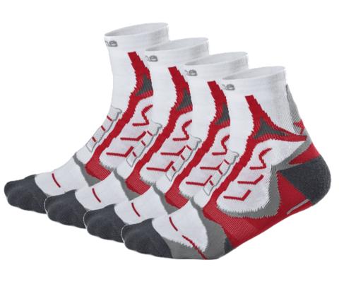 Носки Noname Coolmax 2 пары white-red