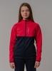 Nordski Jr Premium лыжная куртка детская pink-blueberry - 1