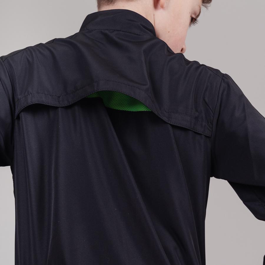 Nordski Jr Motion костюм беговой детский черный-лайм - 5
