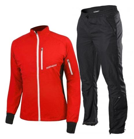 NONAME ROBIGO ENDURANCE костюм для бега красный