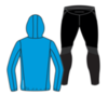 Nordski Jr Run Premium беговой костюм детский Light Blue - 4