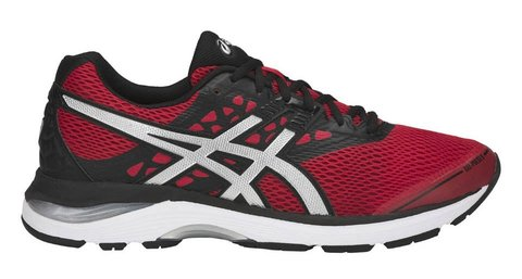 Беговые кроссовки мужские Asics Gel Pulse 9 черные-красные