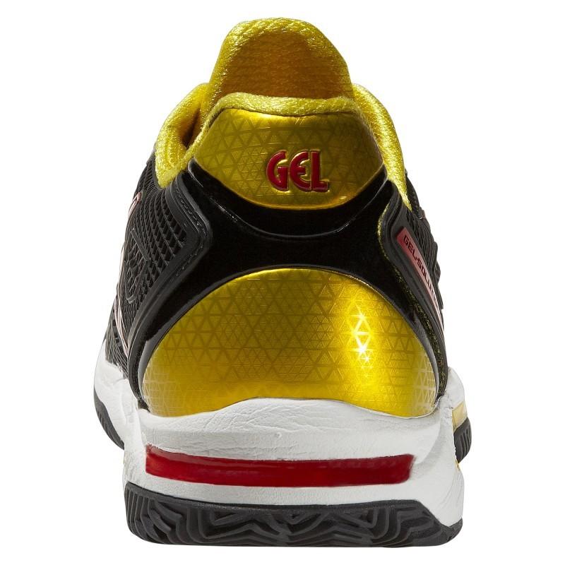 Кроссовки теннисные Asics Gel-Solution Speed 2 мужские черные - 4