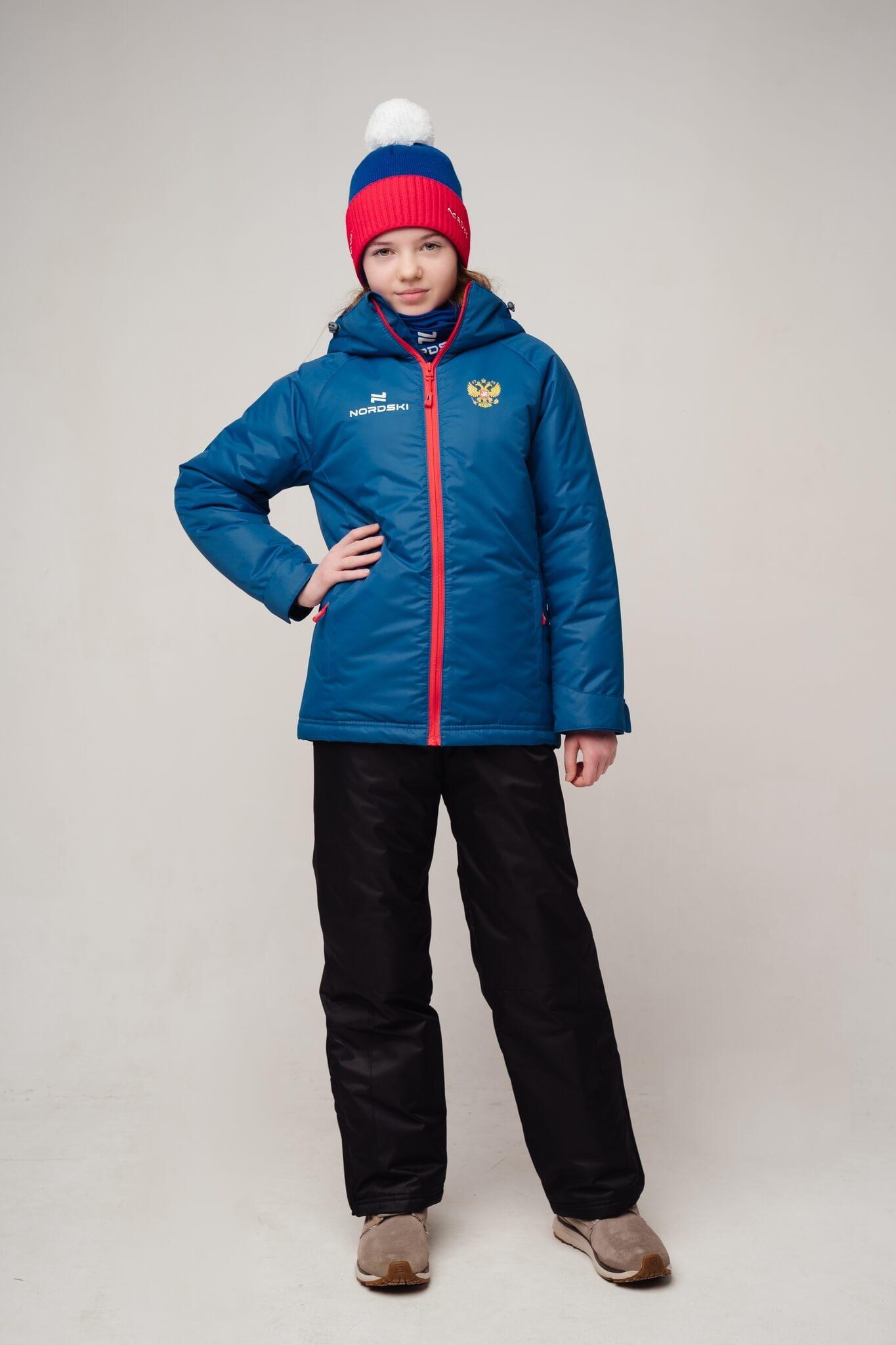 Nordski Jr Motion Patriot утепленная прогулочная лыжная куртка детская - 2