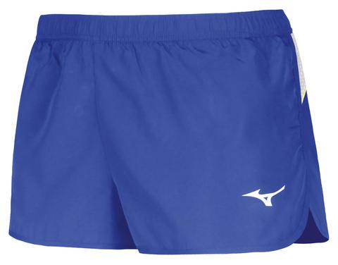 Беговые шорты мужские Mizuno Premium Jpn Split голубые