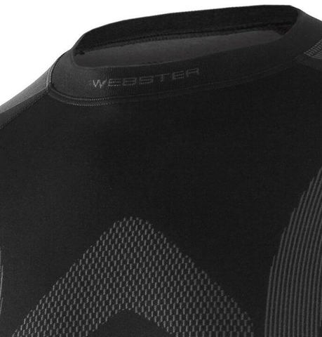 Brubeck Webster Function термобелье рубашка унисекс черная