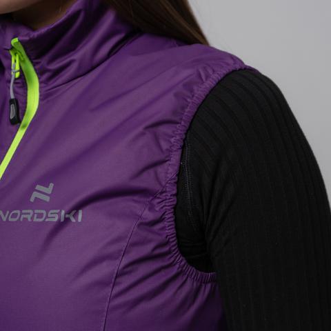 Nordski Motion теплый жилет женский Purple