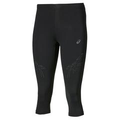 Asics Stripe Knee Tight тайтсы для бега женские черные-серые
