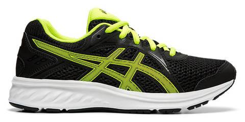 Asics Jolt 2 Gs кроссовки для бега подростковые черные-зеленые