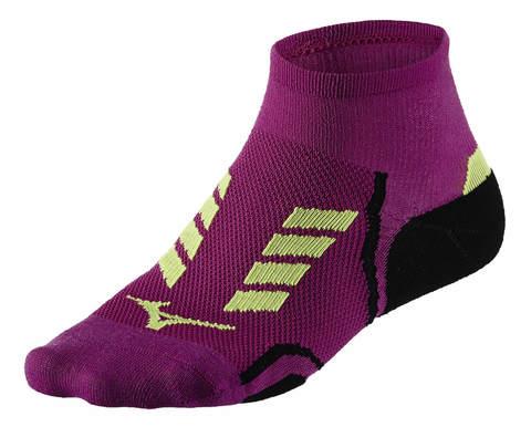 Спортивные носки Mizuno DryLite Race Mid фиолетовые