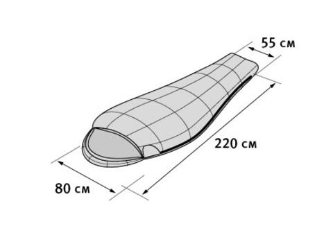 Tengu Mark 28SB спальный мешок экстремальный