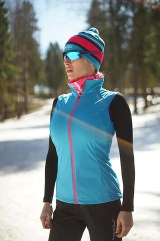 Nordski Elite женский лыжный жилет blue