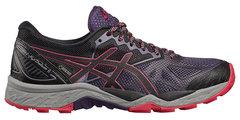 Кроссовки-внедорожники для бега женские Asics GEL-Fujitrabuco 6 G-TX черные-фиолетовые