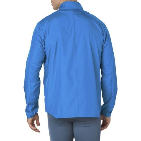 Asics Silver мужская куртка для бега синяя