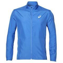 Asics Silver мужская ветрозащитная куртка синяя