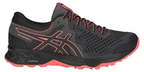 Asics Gel Sonoma 4 кроссовки для бега женские черные-коралловые