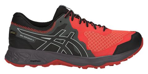 Asics Gel Sonoma 4 GoreTex кроссовки для бега мужские черные-красные