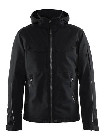 Craft Utility теплая куртка мужская black