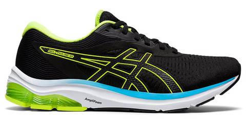 Asics Gel Pulse 12 кроссовки для бега мужские черные-зеленые