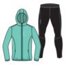 Nordski Jr Run Premium беговой костюм детский Light Breeze - 3