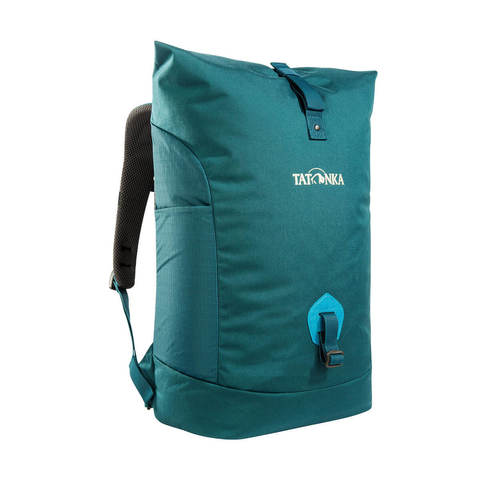 Tatonka Grip Rolltop Pack S городской рюкзак teal green