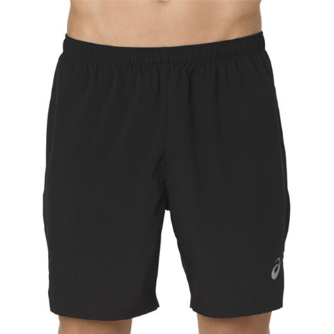 Asics Silver 7in 2-in-1 Short шорты для бега мужские черные